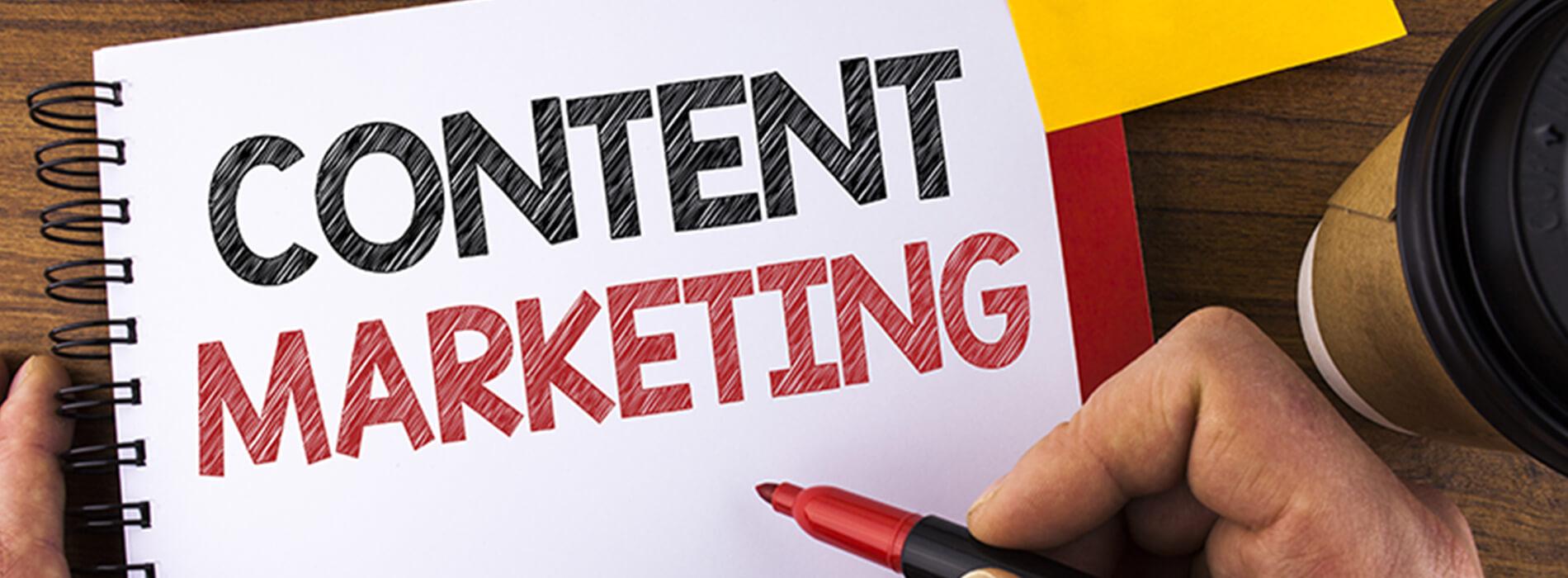 content marketing creeren