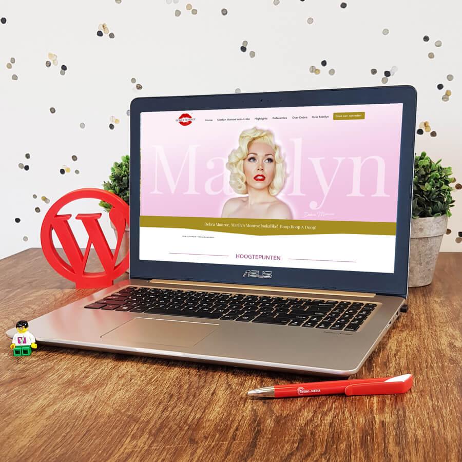 WordPress website ontwikkeling Debra Monroe