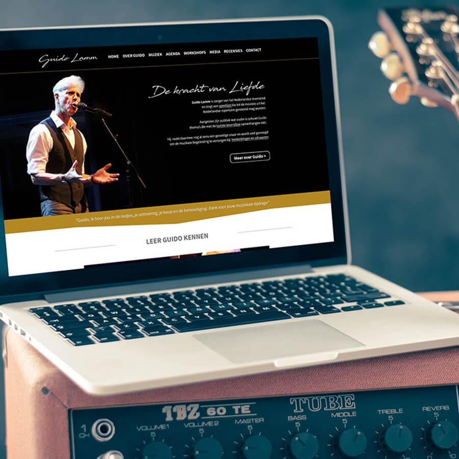 WordPress website ontwikkeling Guido Lamm
