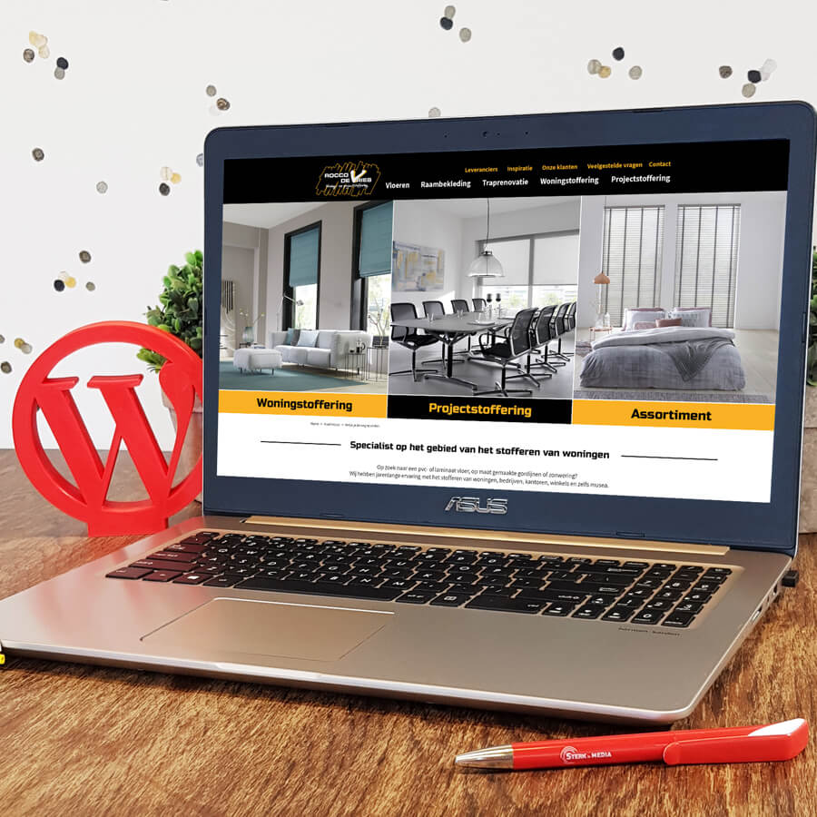 WordPress website ontwikkeling Rocco de Vries